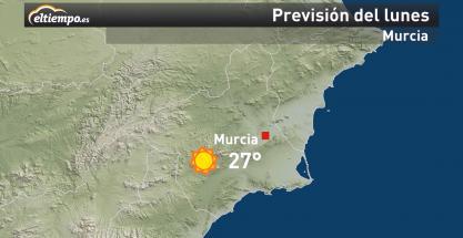 El tiempo en Murcia para esta semana