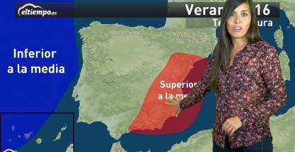 La previsión estacional del verano 2016